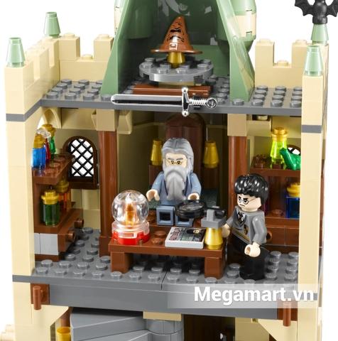Bộ xếp hình Lego Harry Potter 4842 - Đồ chơi lắp ráp lâu đài HogWarts với bối cảnh hấp dẫn cùng các mô hình sinh động