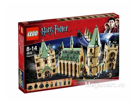Vỏ hộp Lego Harry Potter 4842 - Đồ chơi lắp ráp lâu đài HogWarts