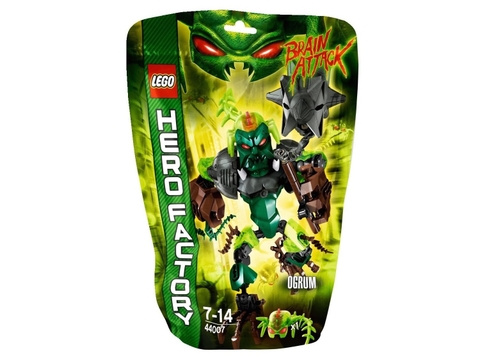 Vỏ hộp sản phẩm Lego Hero Factory 44007 - Ogrum