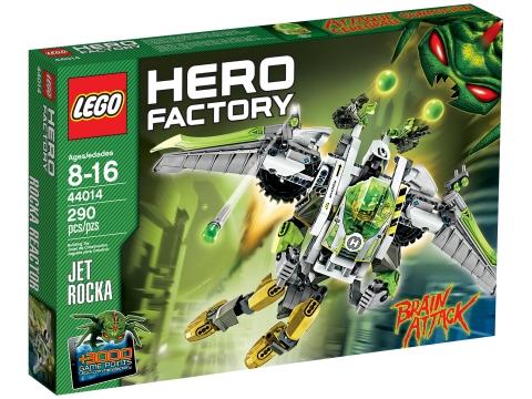 Vỏ hộp sản phẩm Lego Hero Factory 44014 - Jet Rocka