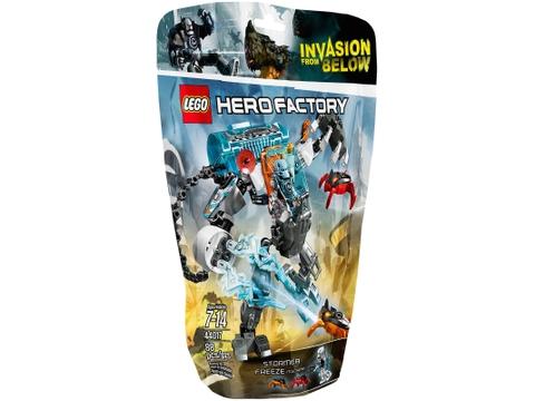 Vỏ hộp sản phẩm Lego Hero Factory 44017 - Cỗ Máy Băng Giá Của Stormer