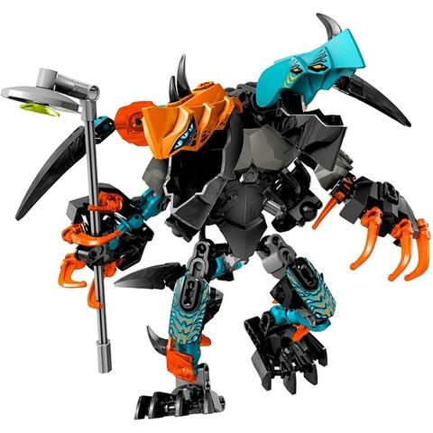 Mô hình quái vật nguy hiểm trong Lego Hero Factory 44021 - Furno & Evo Đối Đầu Quái Vật Hai Đầu