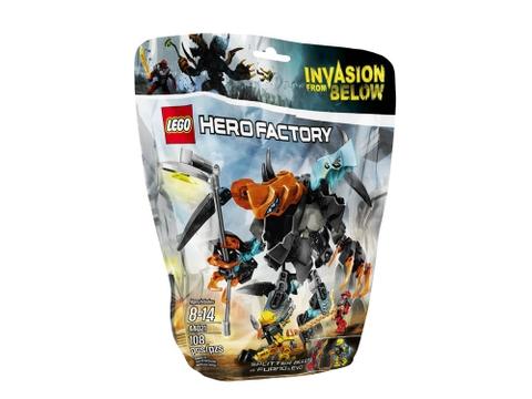 Hình ảnh túi đựng bên ngoài sản phẩm Lego Hero Factory 44021 - Furno & Evo Đối Đầu Quái Vật Hai Đầu