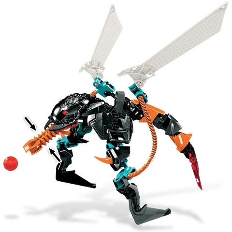 Phát triển kỹ năng cho trẻ nhỏ khi chơi cùng bộ xếp hình Lego Hero Factory 6228 - THORNRAXX