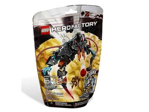Hình ảnh túi đựng thiết kế độc đáo của sản phẩm Lego Hero Factory 6228 - THORNRAXX