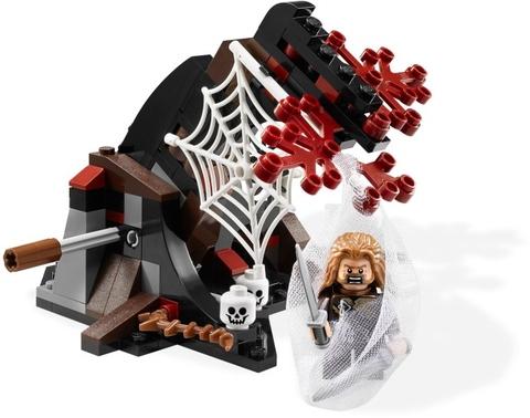 Bộ xếp hình Lego Hobbit 79001 - Thoát khỏi nhện Mirkwood với chủ đề hấp dẫn