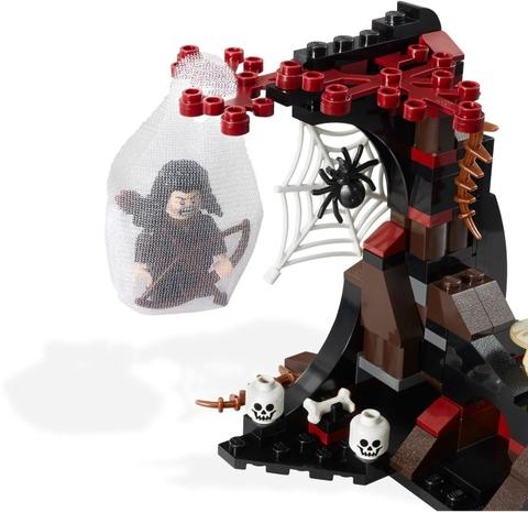 Lego Hobbit 79001 - Thoát khỏi nhện Mirkwood, đồ chơi an toàn cho bé khám phá