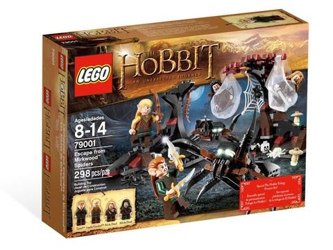 Hình ảnh vỏ hộp bộ đồ chơi Lego Hobbit 79001 - Thoát khỏi nhện Mirkwood