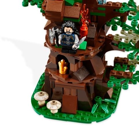 Lego Hobbit 79002 - Cuộc tấn công của Wargs đồ chơi an toàn cho bé