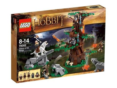 Hình ảnh vỏ hộp đựng sản phẩm Lego Hobbit 79002 - Cuộc tấn công của Wargs