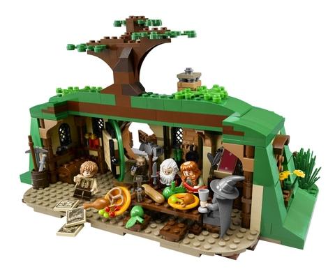Bộ xếp hình Lego Hobbit 79003 - Cuộc hành trình bất ngờ giúp phát triển trí não cho trẻ nhỏ