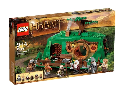 Hình ảnh thực tế vỏ ngoài sản phẩm Lego Hobbit 79003 - Cuộc hành trình bất ngờ