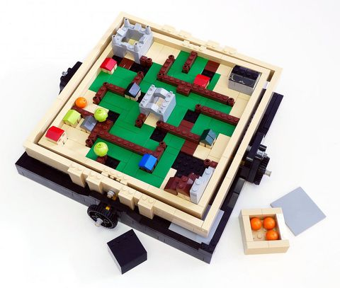 Bộ xếp hình Lego Ideas 21305 - Bộ Lắp Ráp Mê Cung giúp phát triển khả năng sáng tạo cho trẻ