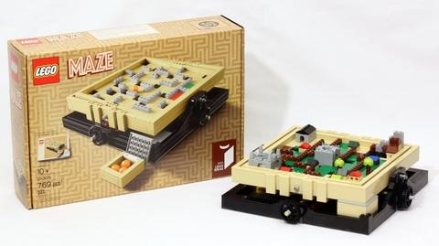 Các chi tiết có trong Lego Ideas 21305 - Bộ Lắp Ráp Mê Cung
