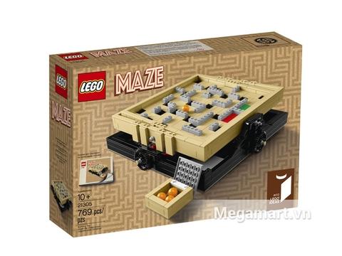Hộp đựng bên ngoài bộ Lego Ideas 21305 - Bộ Lắp Ráp Mê Cung