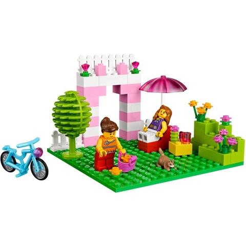 Lego Juniors 10660 - Vali Lắp Ráp Hồng - đồ chơi bổ ích cho bé từ 4 đến 8 tuổi
