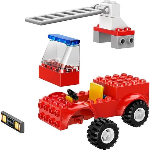Bé tha hồ sáng tạo với các mô hình trong Lego Juniors 10671 - Cứu Hỏa Khẩn Cấp