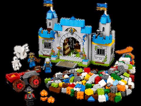 Toàn bộ các chi tiết xuất hiện trong bộ đồ chơi Lego Juniors 10676 - Lâu Đài Hiệp Sĩ