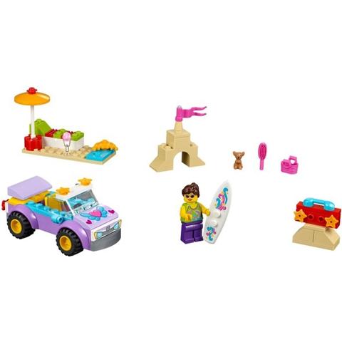 Toàn bộ chi tiết xuất hiện trong bộ đồ chơi Lego Juniors 10677 - Chuyến Du Lịch Bãi Biển