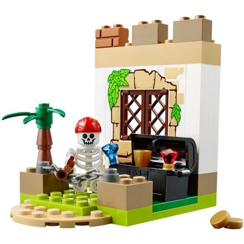 Mô hình Lego Juniors 10679 - Cướp Biển Săn Kho Báu
