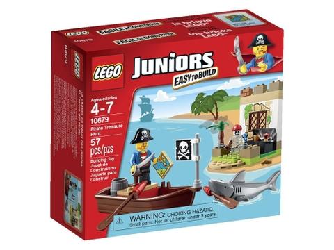 Hình ảnh vỏ hộp bộ Lego Juniors 10679 - Cướp Biển Săn Kho Báu