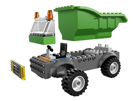 Bộ đồ chơi Lego Juniors 10680 - Xe Rác giúp tăng trí tưởng tượng cho bé