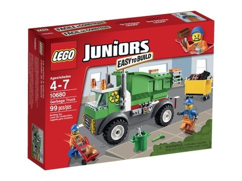 Hộp đựng đồ chơi Lego Juniors 10680 - Xe Rác