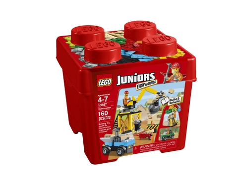 Hình ảnh vỏ ngoài sản phẩm Lego Juniors 10667 - Công trình xây dựng