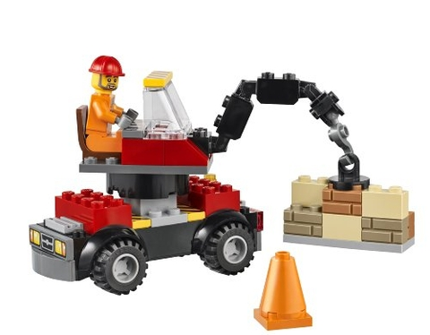 Bộ đồ chơi Lego Juniors 10667 - Công trình xây dựng giúp định hướng nghề nghiệp cho bé