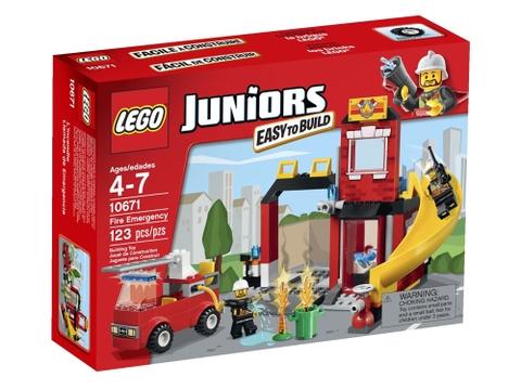 Hình ảnh bên ngoài sản phẩm Lego Juniors 10671 - Cứu Hỏa Khẩn Cấp