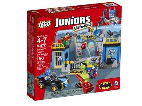 Hình ảnh bên ngoài sản phẩm Lego Juniors 10672 - Bảo Vệ Hang Dơi