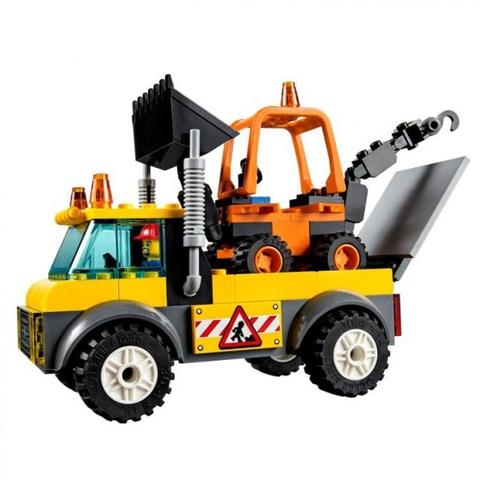 Lego Juniors 10683 - Xe tải làm đường - mô hình hoàn chỉnh
