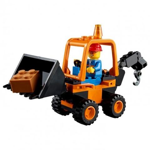 Lego Juniors 10683 - Xe tải làm đường - mô hình máy đào
