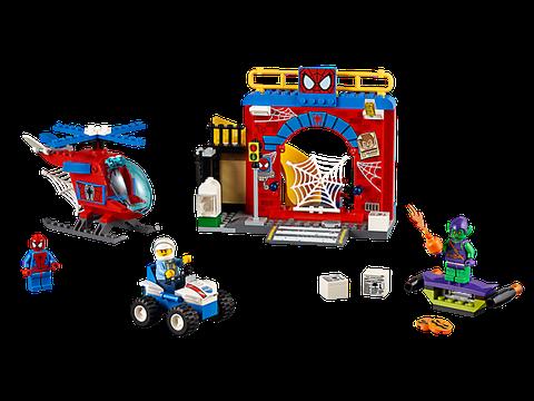 Lego Juniors 10687 - Căn cứ của người nhện gồm 137 miếng ghép được các bé trai 4-7 tuổi yêu thích