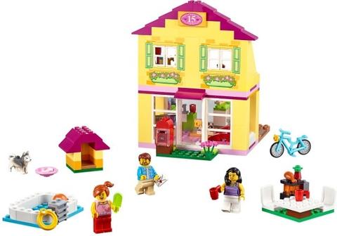 Tất cả các chi tiết xuất hiênj trong đồ chơi Lego Juniors 10686 - Nhà ở gia đình