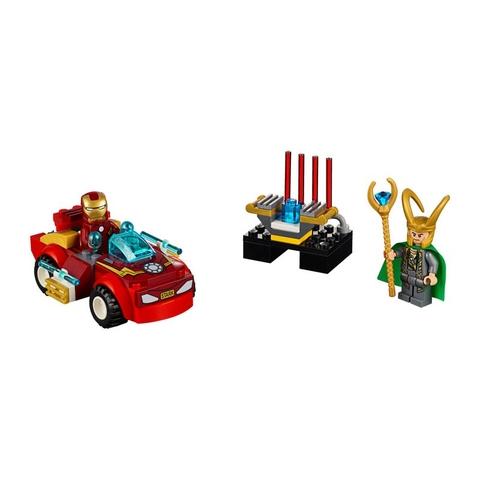 Các mô hình ấn tượng trong bộ Lego Juniors 10721 - Người Sắt Đối Đầu Loki
