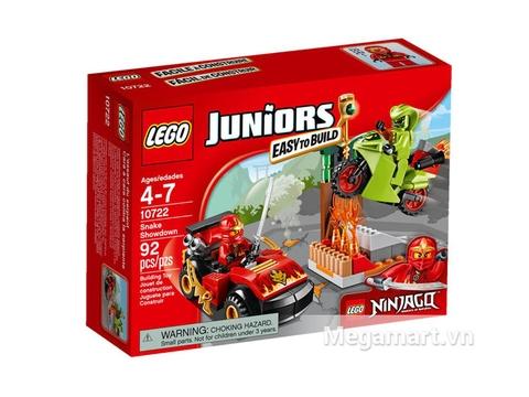 Hình ảnh vỏ hộp bộ Lego Juniors 10722 - Trận Chiến Với Mãng Xà