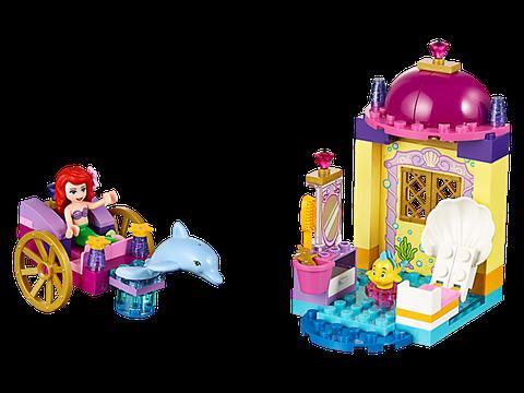 Lego Juniors 10723 - Cỗ Xe Cá Heo Của Ariel - toàn cảnh các chi tiết