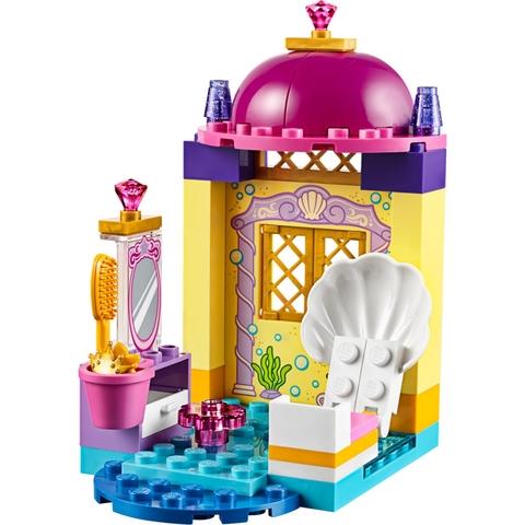 Lego Juniors 10723 - Cỗ Xe Cá Heo Của Ariel - tòa lâu đài tráng lệ