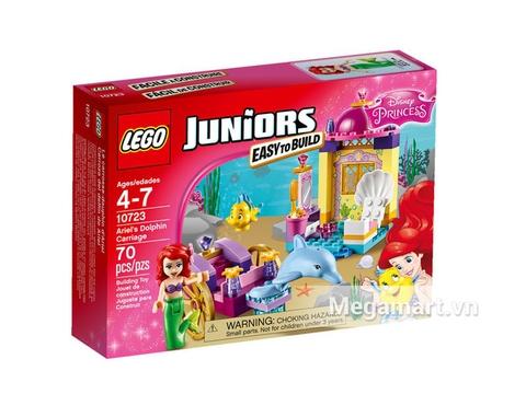 Ảnh bìa sản phẩm Lego Juniors 10723 - Cỗ Xe Cá Heo Của Ariel