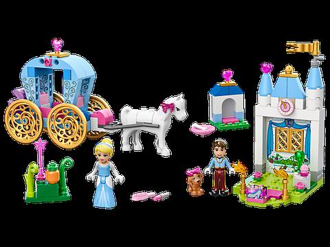 Lego Juniors 10729 - Cỗ Xe Thần Tiên Của Lọ Lem - toàn cảnh bộ đồ chơi