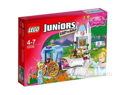 Hình ảnh vỏ hộp bộ Lego Juniors 10729 - Cỗ Xe Thần Tiên Của Lọ Lem