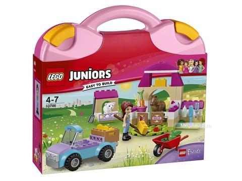 Hình ảnh vỏ hộp bộ Lego Juniors 10746 - Vali nông trại của Mia