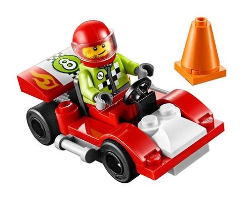 Lego Juniors 30473 - Tay Đua Số 8- mô hình hoàn thiện