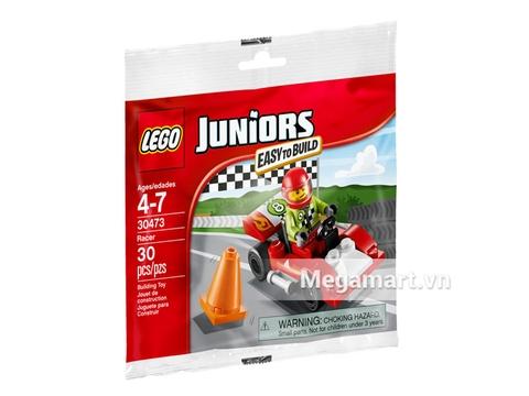Ảnh bìa sản phẩm Lego Juniors 30473 - Tay Đua Số 8
