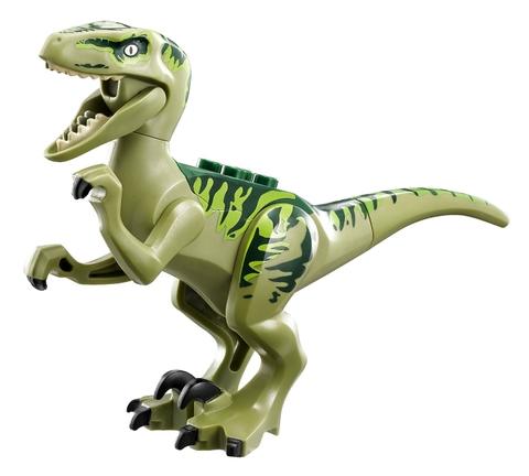 Rèn luyện tính cẩn thận cho bé khi chơi cùng Lego Jurassic World 75920 - Khủng Long Raptor Trốn Thoát