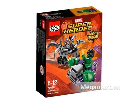 Ảnh bìa sản phẩm Lego Super Heroes 76066 - Người Khổng Lồ Xanh Đại Chiến Ultron