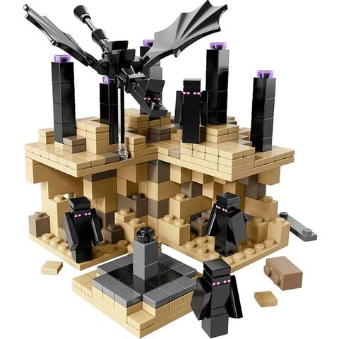 Trọn bộ các chi tiết xuất hiện trong Lego Minecraft 21107 - Thế Giới Minecraft