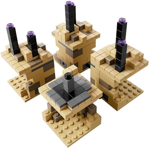 Bộ xếp hình Lego Minecraft 21107 - Thế Giới Minecraft với chủ đề độc đáo
