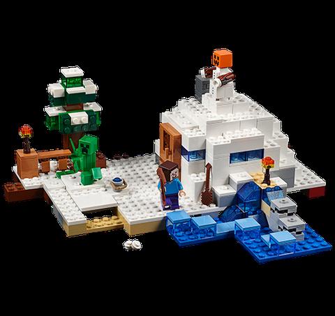 Lego Minecraft 21120 - Căn cứ băng giá đồ chơi bền đẹp